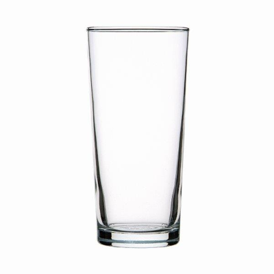 CROWN OXFORD CONICAL 285ml CAPACITY BEER GLASS 48 PER CTN