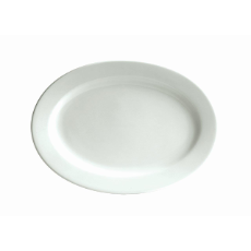 BISTRO CAFE OVAL PLATE 305x220 mm