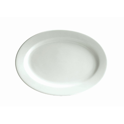 BISTRO CAFE OVAL PLATE 210x150 mm