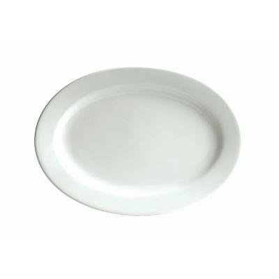 BISTRO CAFE OVAL PLATE 235x175 mm