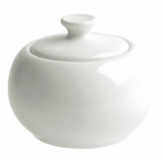 BISTRO CAFE SUGAR BOWL WITH LID