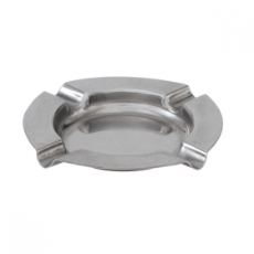 ASHTRAY ROUND STAINLESS STEEL 115mm