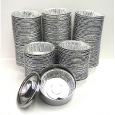 ASHTRAY FOIL CUPS ROUND 200PKT 2000CTN