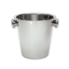 WINE BUCKET WITH KNOB HANDLES STAINLESS STEEL