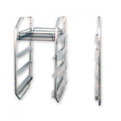UNDER BAR RACK 4 TIER LEFT SIDE HEIGHT 91.5cm