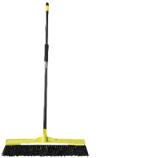 INDUSTRIAL BROOM SUPERTUFF 60 cm WITH HANDLE