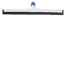 FLOOR SQUEEGEE 535mm POLY WHITE DOUBLE CHANNEL