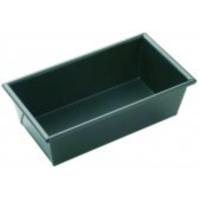 MASTERPRO BOX SIDED LOAF PAN 21x11x7cm NON STICK