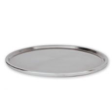CAKE STAND LOW 30cm STAINLESS STEEL