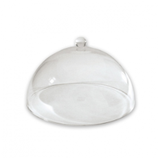 CAKE COVER ACRYLIC DOME 30cm WITH KNOB HANDLE
