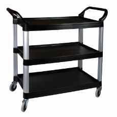 SUNNEX CART 3 TIER BLACK LGE 106X48X100cm