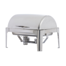 CHAFING DISH ROLL TOP DELUXE WITH 1/1 PAN