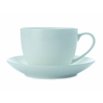 MW CASHMERE CUP AND SAUCER 230 ml BONE CHINA