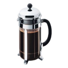 BODUM COFFEE PLUNGER 8 CUP CHROME