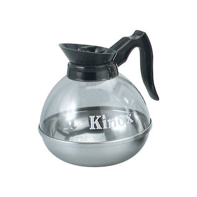 COFFEE DECANTER 2.0Ltr KINOX WITH S/S BASE