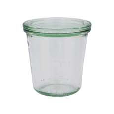 WECK 290ml GLASS JAR WITH LID PRESERVE SERVING 80x87mm