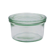 WECK 290ml GLASS JAR WITH LID PRESERVE SERVING 100x55mm