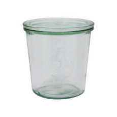 WECK 580ml GLASS JAR WITH LID PRESERVE SERVING 100x107mm