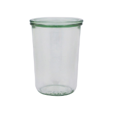 WECK 850ml GLASS JAR WITH LID PRESERVE SERVING 100x147mm