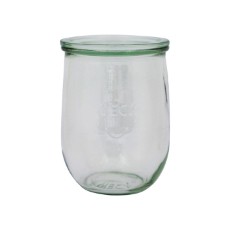 WECK 1062ml TULIP GLASS JAR WITH LID 100x147mm PRESERVE SERVING