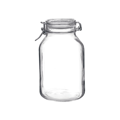 STORAGE JAR 3L GLASS