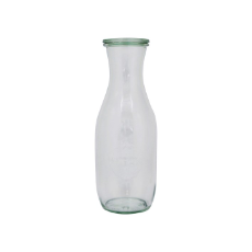 WECK 1062ml BOTTLE GLASS JAR WITH COVER 60x250mm PRESERVE SERVING
