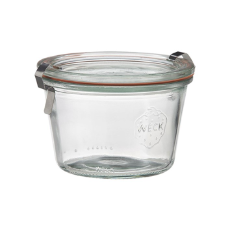 WECK 80ml GLASS JAR WITH COVER PRESERVE SERVING 60X55MM