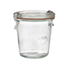 WECK 140ml GLASS JAR WITH COVER PRESERVE SERVING 60X70MM