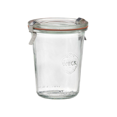 WECK 160ml GLASS JAR WITH COVER PRESERVE SERVING 60X80MM