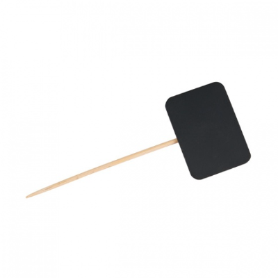 DISPOSABLE SKEWER WITH CHALK BOARD 25PKT