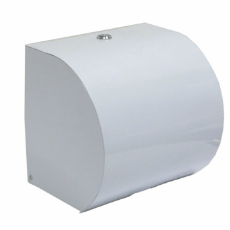 HAND TOWEL ROLL DISPENSER PLASTIC WHITE LOCKABLE FOR DPC1623/DPC1624