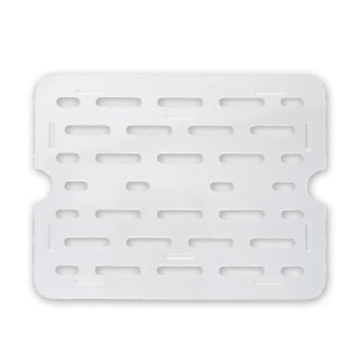 DRAIN PLATE 1/3 SIZE CLEAR