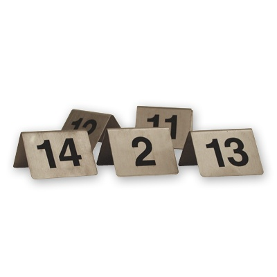 TABLE NUMBER SET 11-20 S/S (