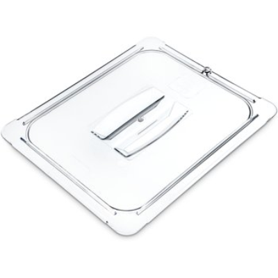 FOOD PAN 1/2 SIZE LID CLEAR W/HANDLE