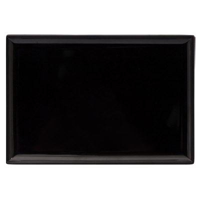 RYNER RECT PLATTER 350x240mm BLACK