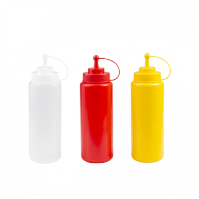 SQUEEZE BOTTLE YELLOW 944ML WITH CAP