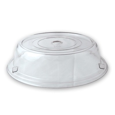 PLATE COVER 25cm P/CARB CLEAR