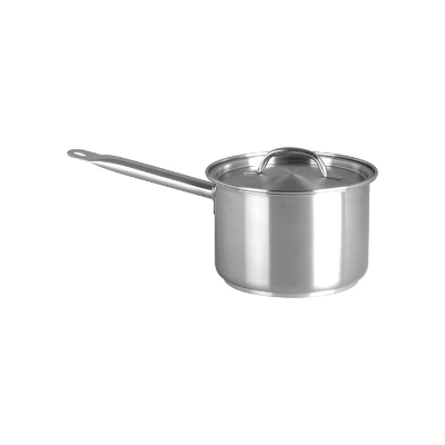 CHEF INOX ELITE SAUCEPAN 5.25L WITH LID 18/10