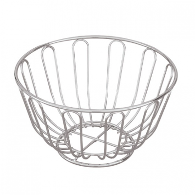 BREAD BASKET/FRUIT CHROME 24cm