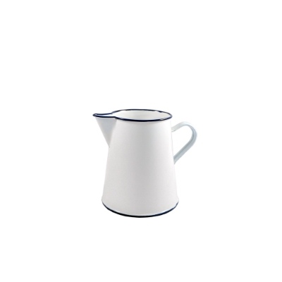 ENAMEL PITCHER 1L WHITE
