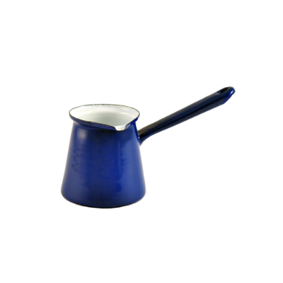 ENAMEL 6cm BLUE TURKISH COFFEE POT 500mls