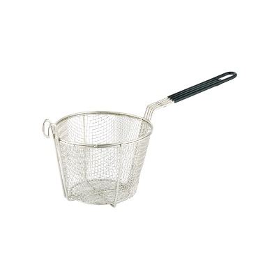 CHIP BASKET ROUND 15cm COATED HANDLE