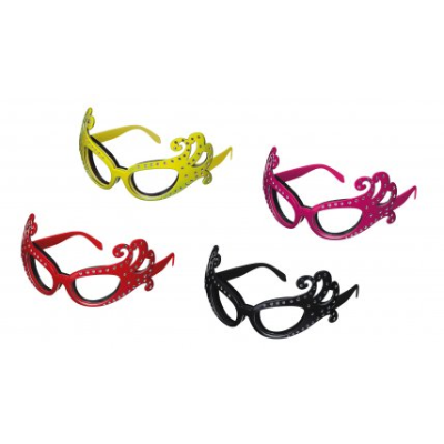 ONION GLASSES RED/PINK/YELLOW/ BLACK