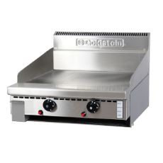 GOLDSTEIN GAS GRIDDLE SMOOTH PLATE 610x20x520mm DEEP