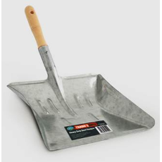 TRADIES MATE STEEL DUSTPAN HEAVY DUTY