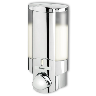 AVIVA CHROME SOAP DISPENSER 1 BUTTON