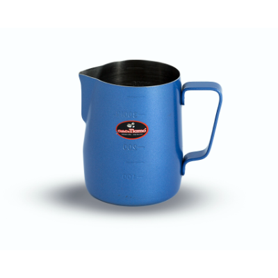 MILK FROTHING JUG 360ml BLUE