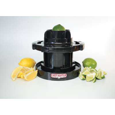 SAMMIC CHEFMASTER CITRUS WEDGER BLK PLASTIC DIA 215mm x 190mmH (8-16 AT A TIME)