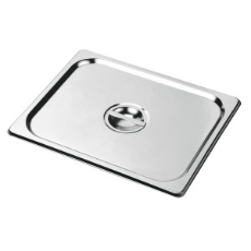 CHEF INOX STEAM PAN COVER 1/2 ANTI JAM