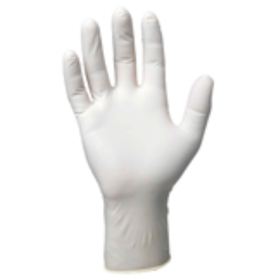LATEX DISPOSABLE GLOVES LARGE 100/PKT W/POWDER